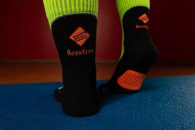 Ottieni il meglio dal tuo allenamento grazie alla calza Aeration